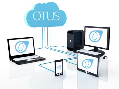 OTUS - Sur le nuage: accès sur ordinateur, tablette et téléphone